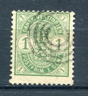 Danish West Indies - 1 C. Used. YT 16. Antilles Danoises - Denmark (West Indies)