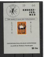 België  Erinnofilie N° 96 Xx Postfris  Cote 60 Euro - Erinofilia