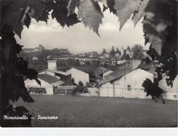 MONCRIVELLO-VERCELLI-PANORAMA-CARTOLINA VIAGGIATA IL 4-9-1969 - Vercelli