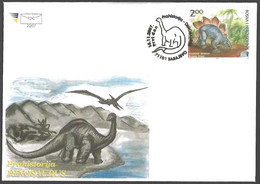 Bosnia And Herzegovina - Dinosaur - Stegosaurus, FDC, 2007 - Prehistorics
