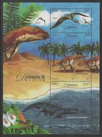 Mexico - Dinosaurs, Souvenir Sheet, MINT, 2006 - Prehistorics