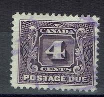 Canada - 1928 - Réf Yvert 2020 - N° 4 - Oblitéré - Dentelé 12 - TB - - Segnatasse