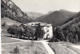 SOMEDA DI MOENA-TRENTO-VAL DI FASSA-CASA NOSTRA SIGNORA DEL S.CUORE-CARTOLINA VERA FOTOGRAFIA-VIAGGIATA IL 23-7-1964 - Trento