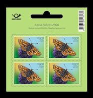 Estonia 2020 Mih. 992 Fauna. Butterfly. Marsh Fritillary (M/S) MNH ** - Estland