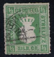 NEUBRANDENBURG 14/7 Auf 1/3 Sgr. Hellgrün - Strelitz Nr. 2 A - Pracht - Geprüft BPP Mit KB - Mecklenbourg-Strelitz