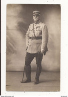 Militaria Soldat Carte Photo - Uniformes