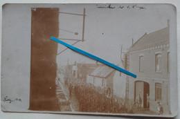 1916 Billy Berclau Jaeger Chasseurs Allemands Défilé Tranchée Poilu Photo Ww1 - Guerra, Militari