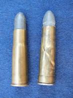 Lot De 2 Cartouches 43 Remington Egyptien - Decorative Weapons