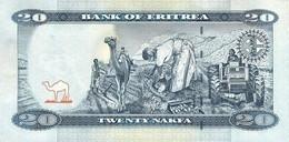 ERITREA P. 12 20 N 2012 UNC - Eritrea