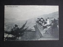 CPA SUISSE (V2029) SONNENBERG BEI LUZERN (2 Vues) 1908 - LU Lucerne