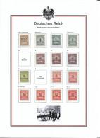 Deutsches Reich 1923 Lot Between 313 - 337 Farben!   5 Scans - Ungebraucht