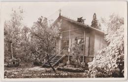 Photo Format CP Refuge De La Maison De Fer à Dampierre En Yvelines (78) Ex Billetterie De L'expo Universelle 1889 état - Orte