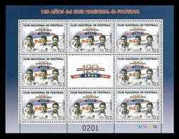 Uruguay 2019 Mih. 3656 Football Club Nacional De Football (M/S) MNH ** - Uruguay