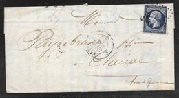 France - 1856 Entire Paris To Clairac - 1853-1860 Napoleone III