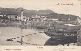 INTRA-VERBANO CUSIO OSSOLA-LAGO MAGGIORE -IL PORTO-CARTOLINA VIAGGIATA IL 17-7-1906 - Verbania