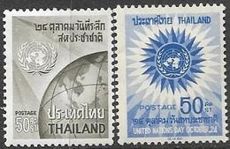 Thailand  1964-6     Sc#427 & #456  MH,   2016 Scott Value $3.10 - Thaïlande