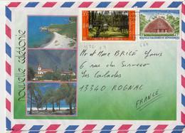 Nouvelle-Calédonie > 1988 S/Lettre  N°522+554 BON ETAT - Briefe U. Dokumente