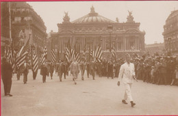 GUERRE 1914-18 AMERICAN LEGION PARIS DEFILE - Guerre 1914-18