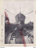 Au Plus Rapide Toulon Bassin De Radoub Paquebot Providence Messageries Maritimes La Seyne Sur Mer * 20 Mai 1946 - Boten
