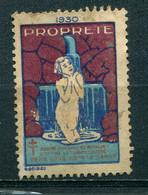 Vignette Lutte Contre La Tuberculose 1930 - Tegen Tuberculose