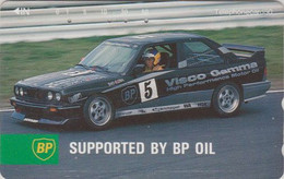 Télécarte JAPON / 110-011 - VOITURE BMW RALLYE   - RALLY CAR ** BP OIL ** JAPAN Phonecard - AUTO TK / Germany - 3435 - Cars
