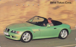 Télécarte JAPON / 110-011 - VOITURE - BMW ** Tokyo Corp. **- CAR JAPAN Phonecard - AUTO TK / Germany - 3441 - Cars