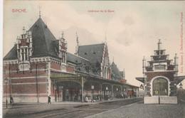 Binche ,  Intérieur De La Gare ,( Couleur ) Station , Statie - Binche