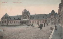 Binche ,  Extérieur De La Gare ,( Couleur ) Station , Statie - Binche