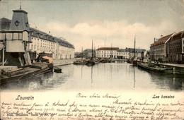 België - Louvain Leuven - Les Bassins Haven - 1902 - Zonder Classificatie