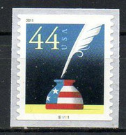 USA. Timbre De 2011. Plumier. - Unused Stamps