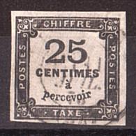 France - Timbre-Taxe N° 5A Oblitéré - 1859-1955 Used