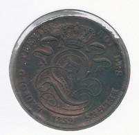 LEOPOLD I * 5 Centiem 1852 * Fraai * Nr 10020 - 03. 5 Céntimos