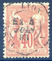 France N°94 TAD Levée Exceptionnelle - (F1873) - 1876-1898 Sage (Type II)