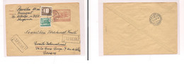 Hungary - Cover - . 1957 Budapest To Switz Red Cross Pow Stat+2 Adtls Express Service. Easy Deal. - Unclassified