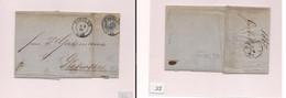Germany - Cover - 1867 Prusia Breslau To Glewitz Fkd EL. Easy Deal. - Zonder Classificatie
