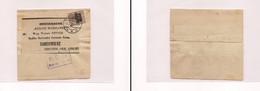 Poland -1918 WW1 Gerna Occup Warschau To Sanomierz Fkd Wrappr Censored. Easy Deal. - Ohne Zuordnung