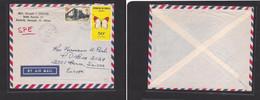 FRC Senegal 1966 Dakar To Switz Air Mult Fkd Env Butterflies. Easy Deal. - Non Classificati