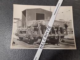 SNCF : Photo Originale HUBERT 12,5 X 17,5 : Original Engin De Manoeuvre - Treinen