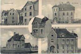 Cpa OESTRICH DORTMUND W. Drechman Östrich Colonial U. Schreibwaren - Villa Emsinghoff, Ev., Kath. Schule, Beamtenhäuser - Dortmund