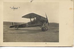 AVIATION Avion Aviateur Carte Photo SPAD 2 Scans ..G - ....-1914: Precursores