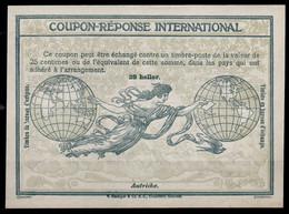 AUTRICHE OESTERREICH AUSTRIA 1907,  Ro128 Heller First International Reply Coupon Reponse Antwortschein IAS IRC Mint ** - Enteros Postales
