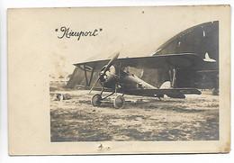 AVIATION Avion Aviateur Carte Photo NIEUPORT  2 Scans ..G - ....-1914: Precursores