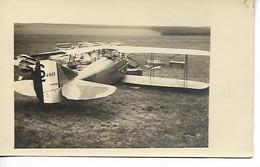 AVIATION Avion Aviateur Carte Photo Avion   2 Scans ..G - ....-1914: Precursores