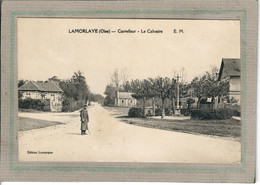 CPA - (60) LAMORLAYE - Aspect Du Calvaire Et Du Carrefour En 1923 - Andere Gemeenten