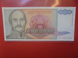 YOUGOSLAVIE 50 MILLIARD DINARA 1993 Peu Circuler (B.21) - Yugoslavia