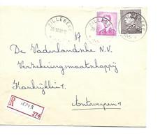 Recom. Sterstempel / Cachet Etoile  *  ZILLEBEKE * 1968 + Ieper Boudewijn MARCHAND + POORTMAN - Briefe U. Dokumente