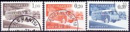 FINLAND 1963 Autopakette Zegels Serie Fluorescerend GB-USED - Paketmarken