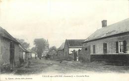 VILLE SUR ANCRE - Grande Rue. - Andere Gemeenten