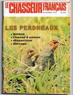 Le Chasseur Français _N°945_novembre 1975_Les Perdreaux - Hunting & Fishing