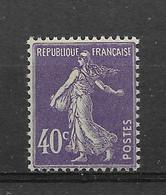 FRANCE    N° 236   **  NEUF SANS CHARNIERE - 1906-38 Semeuse Camée
